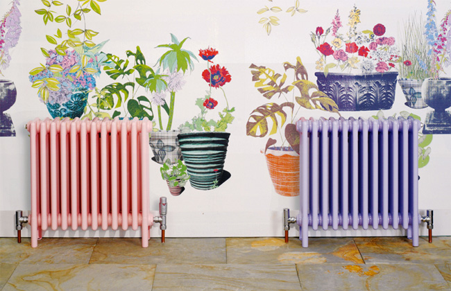 Complementing Radiators With Wallpaper