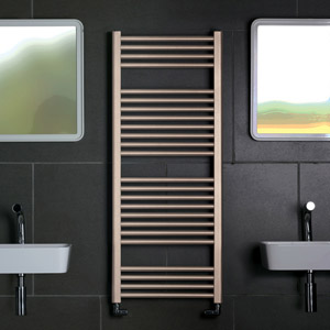 Radiators in textured finishes