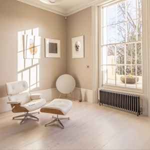 Radiators for open plan living