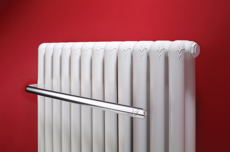 Radiator shown in White RAL 9010