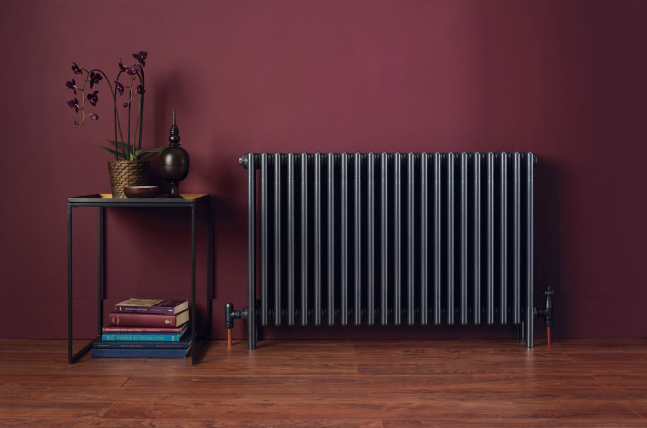 Radiator shown in Anthracite finish