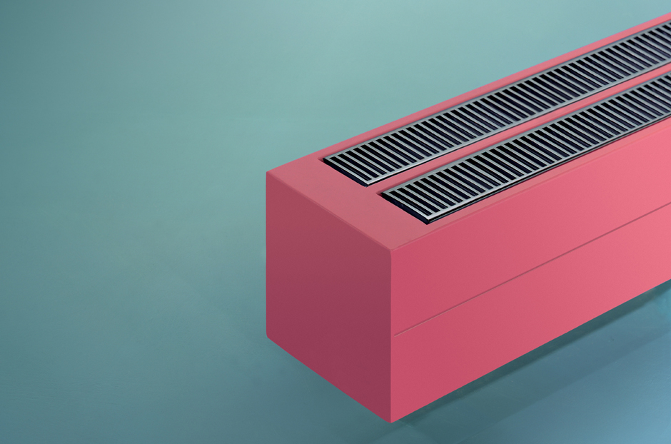 Radiator shown in Rose