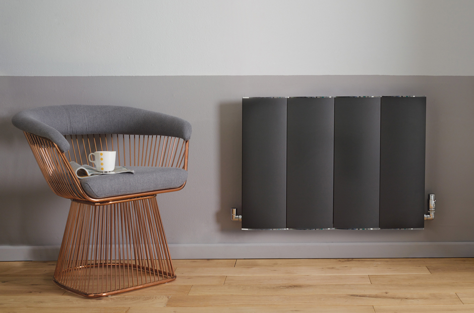 Radiator shown in Volcanic finish
